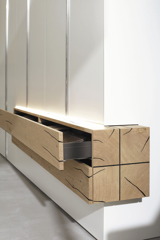 Moderne Kleiderschrank Lackiertes Holz Aus Massivholz