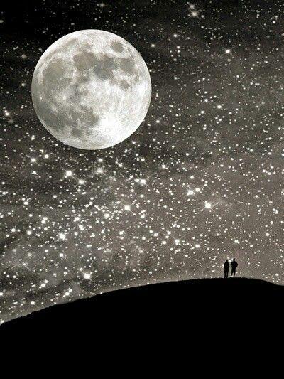 Moon Stars Beautiful