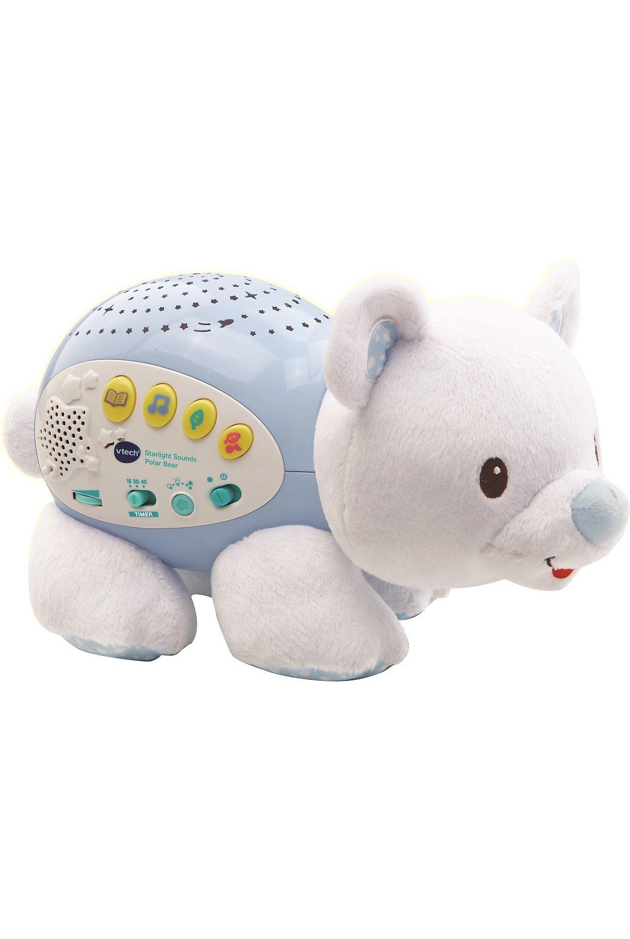 VTECH Little Friendlies Starlight Sound polar bear Polar