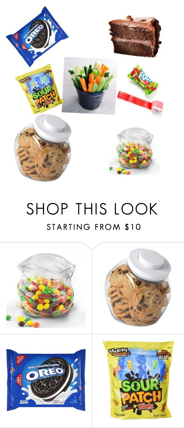 """""""one healthy and a whole lot of junk"""" by cupcakekisss on Polyvore featuring interior, interiors, interior design, home, home decor, interior decorating, OXO and Disney"""