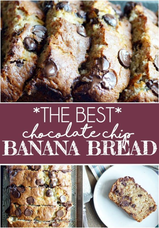 The best chocolate chip banana bread banana bread bananas and oil explore banana chocolate chips and more sciox Gallery