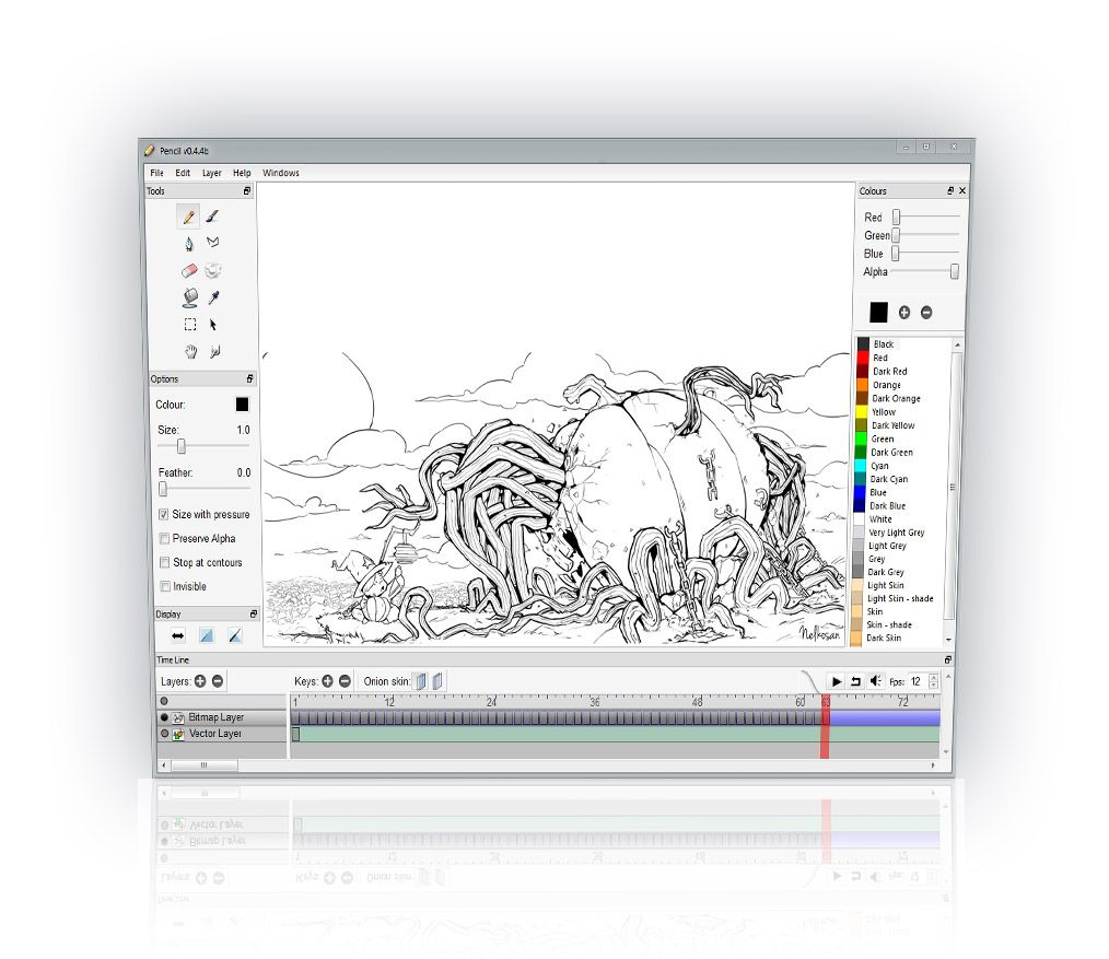 Community about the 'Pencil2D', an opensource animation
