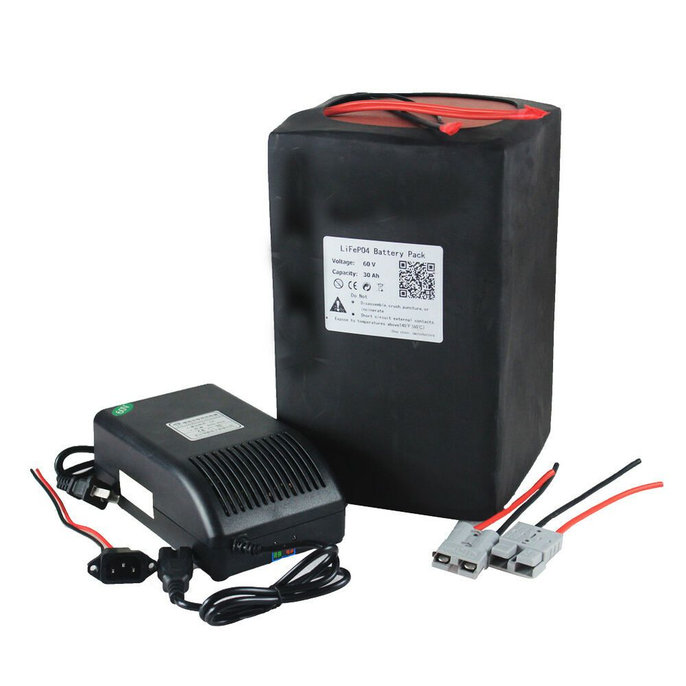Sponsored Ebay 60v 30ah Lithium Lifepo4 Rechargeable Battery With
