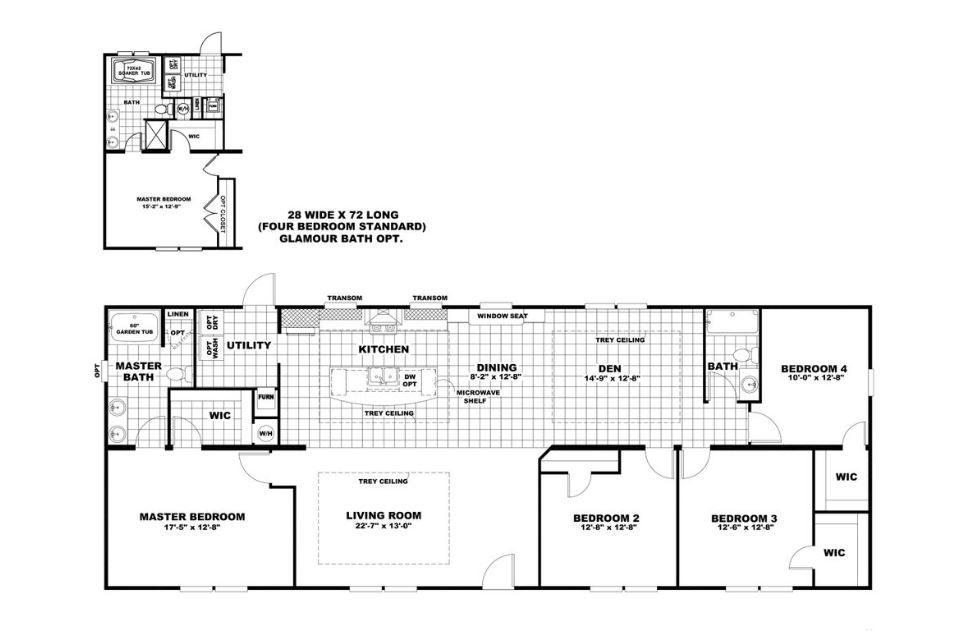 4 Bedroom 2 Bathroom 1920 Sq Ft 58scs28724ah House