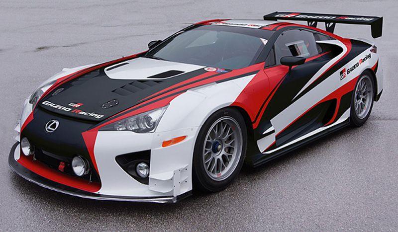 Lexus Lfa Race Car Prepared By Gazoo Racing Lexus Lfa Race Cars Lexus