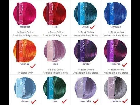 Ion Semi Permanent Hair Color Review Ion Hair Colors Ion Hair Color Chart Magenta Hair Colors