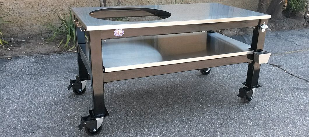 Big Green Egg Stainless Table