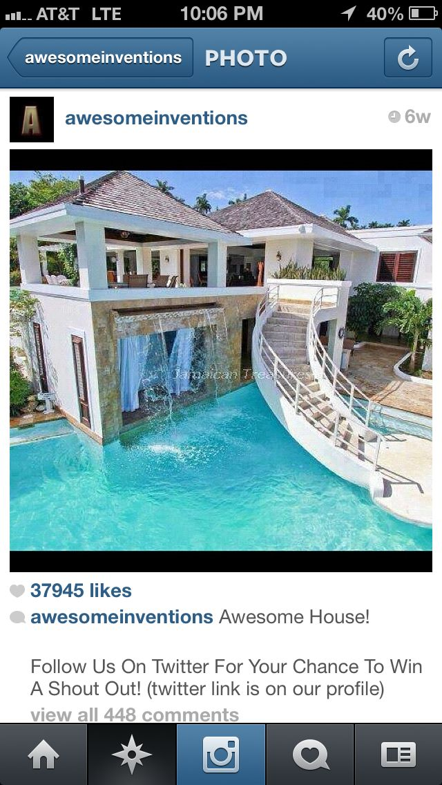Outdoor pool dream rooms house casa linda home goods houses also best pools images balcony build rh pinterest