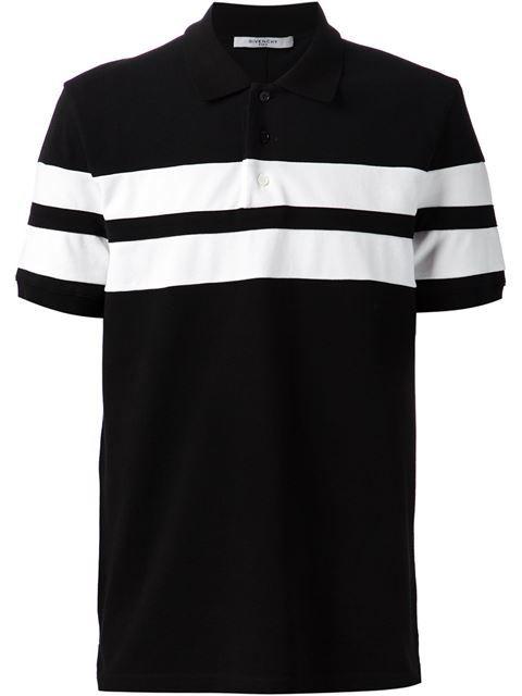 2f9e444f799 Givenchy Striped Applique Polo Shirt - - Farfetch.com Polos