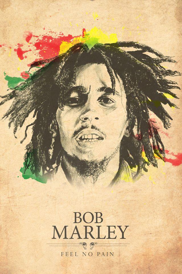 Bob Marley Iphone 5 Wallpaper Pocket Walls Hd Iphone Wallpapers Bob Marley Artwork Bob Marley Art Bob Marley Painting