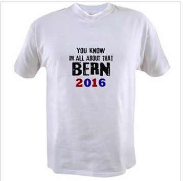 You know i'm all about that Bern! Bernie Sanders for President !!