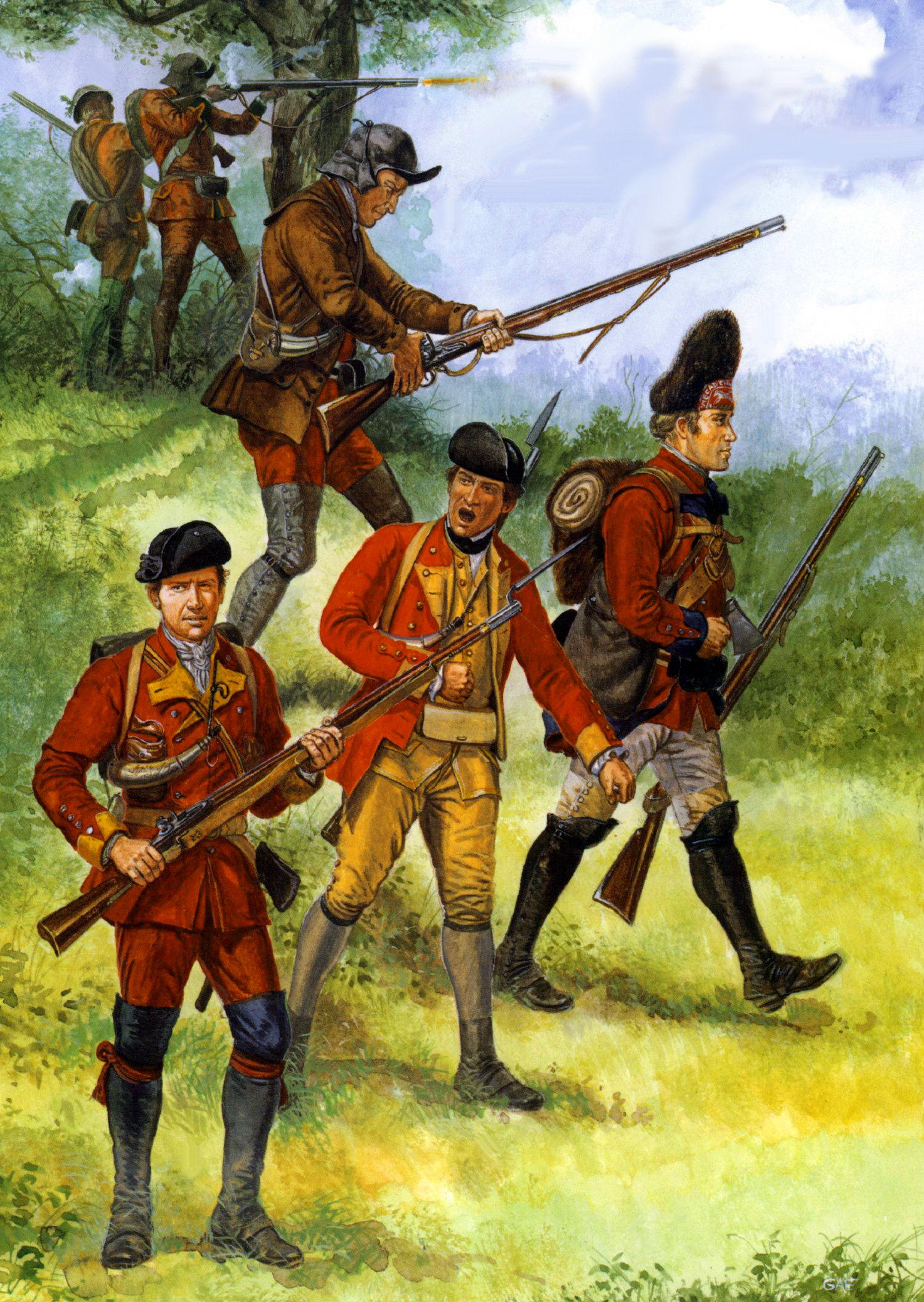 British Army Seven Years War