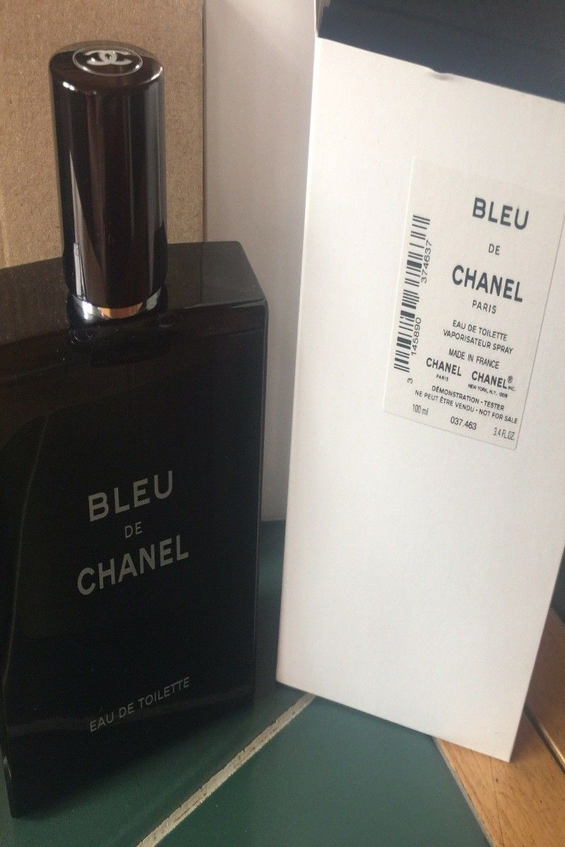 6495 Bleu De Chanel Eau De Toilette 34oz Spray White Boxed Item
