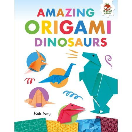 Photo of Amazing Origami: Amazing Origami Dinosaurs (Hardcover) – Walmart.com