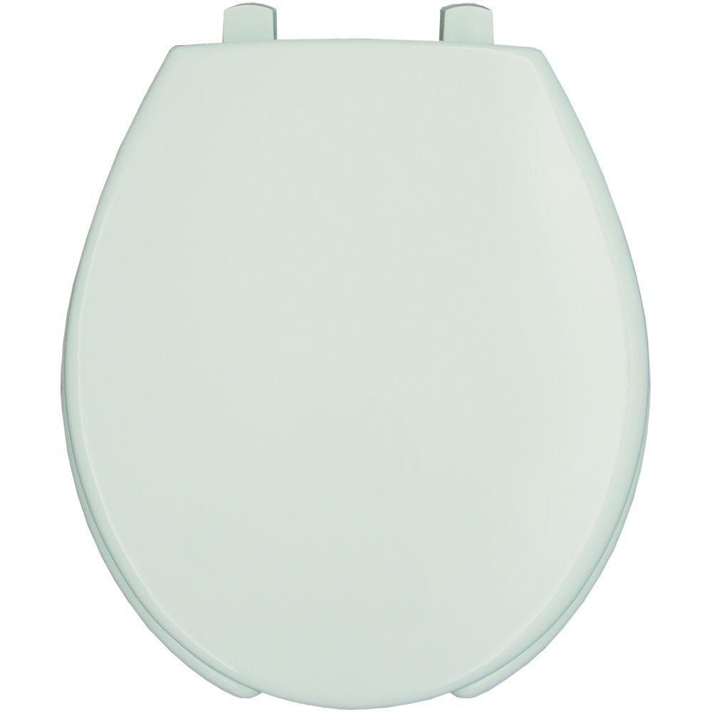 Bemis Medic Aid Sta Tite Round Open Front Toilet Seat In White