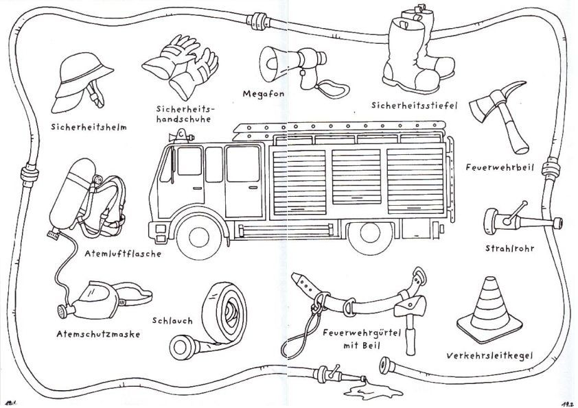 feuerwehr kindergarten arbeitsbl tter google suche feuerwehr malvorlage feuerwehr. Black Bedroom Furniture Sets. Home Design Ideas