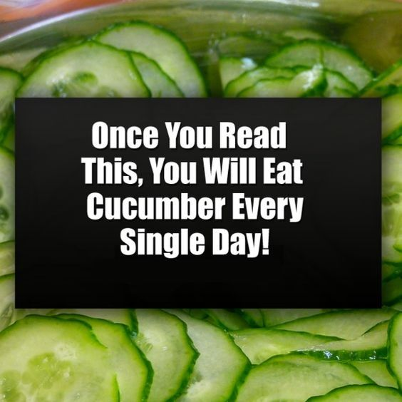 eat cucumber intake vitamins minerals benefit effect affect body health is part of Cucumber health benefits -