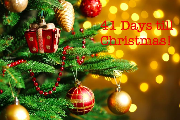 41 days until Christmas! Christmas holidays, Days till