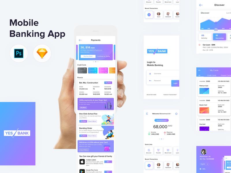 Design Bank Cor.Mobile Banking Application Mobile App Design Mobile Application