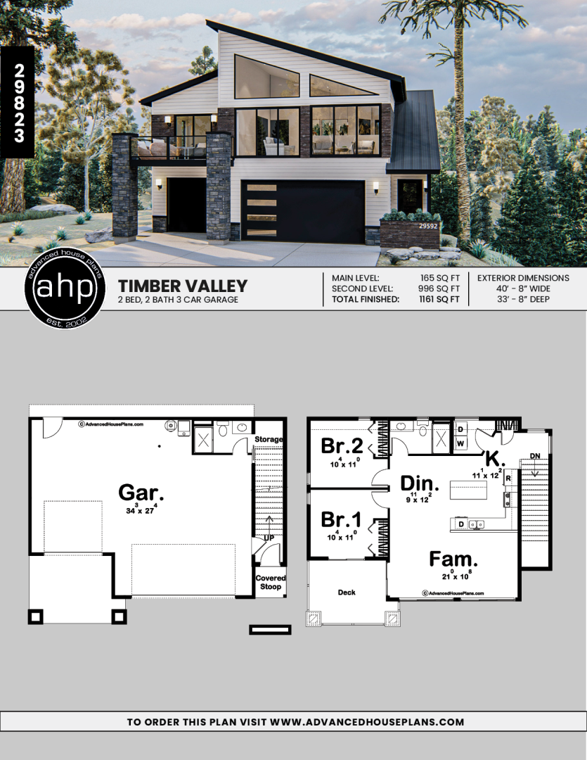 Modern Carriage House Plan Timber Valley Carriage House Plans Garage House Plans Modern House Floor Plans