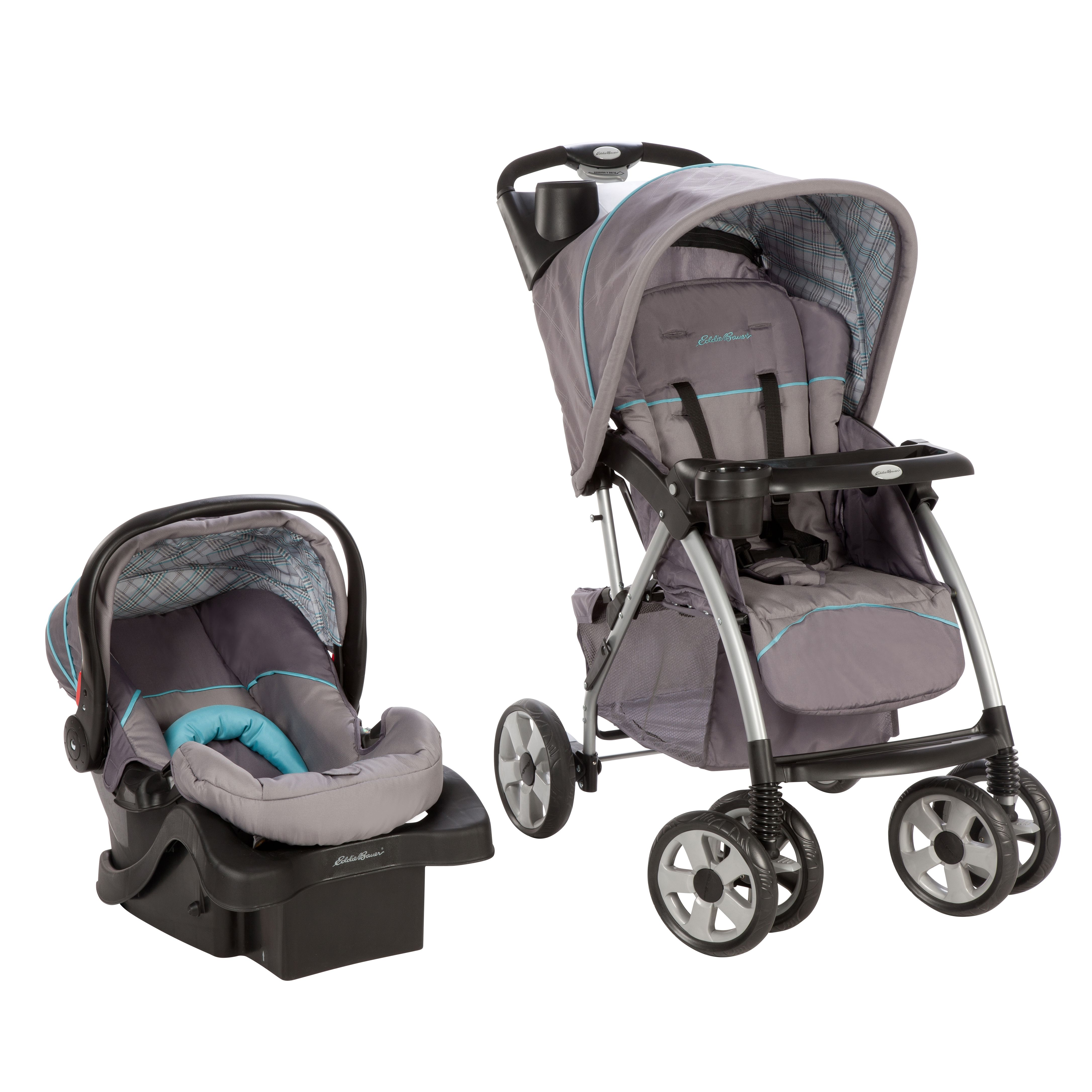Stroller/Car Seat Travel System includes a stroller with ...