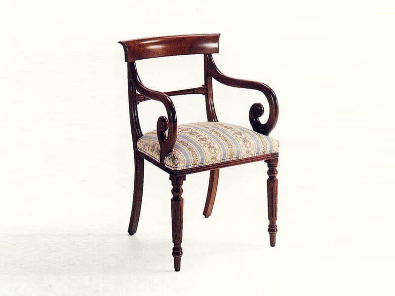 Sedie Capotavola ~ Mr. morris sedia capotavola classica seduta imbottita struttura