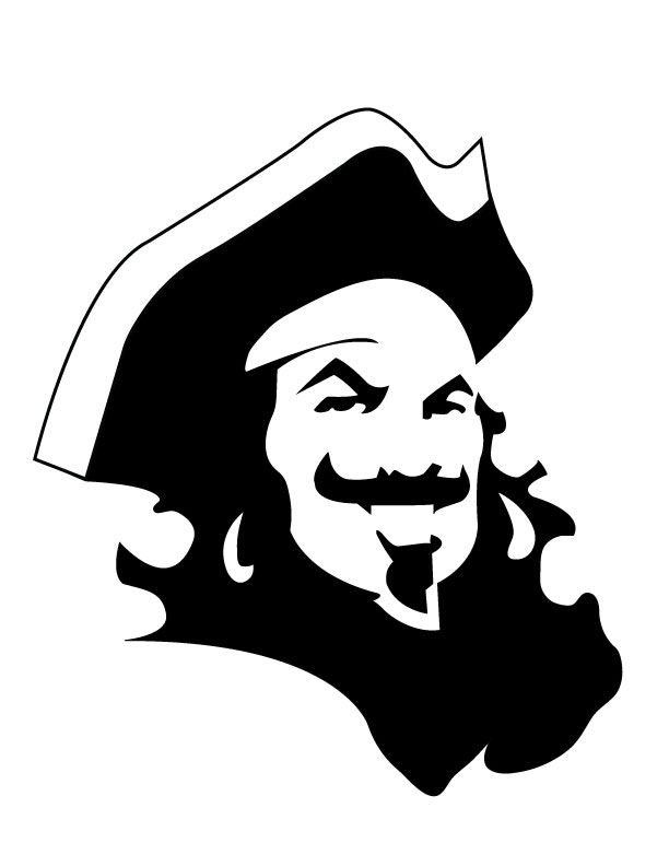 Captain Black Spiced  Morgan  Stencil