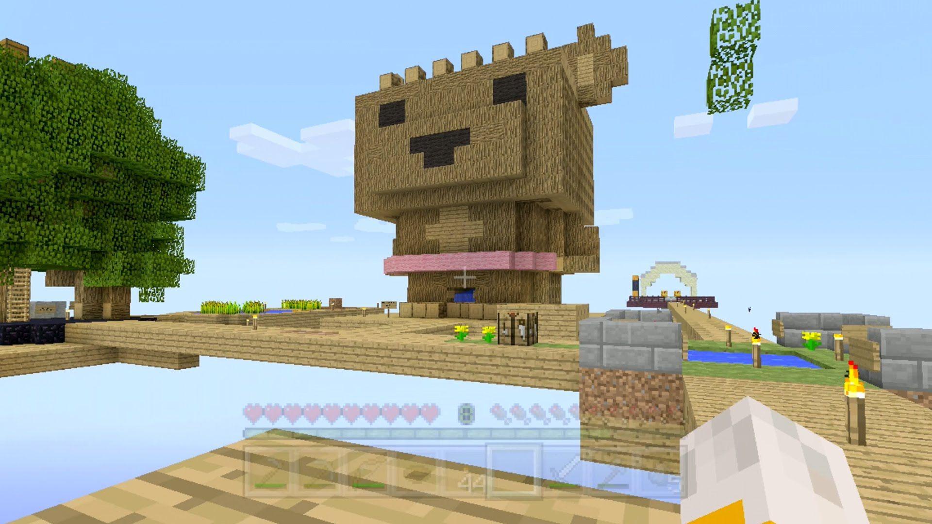 Stampylonghead And Sqaishey Quack Minecraft Xbox Sky Den Barry