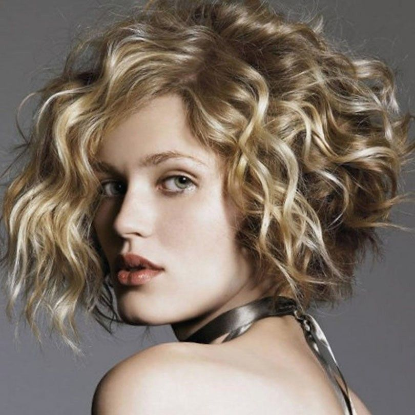 Frisuren Frauen Locken Bob Luxus Asymmetrische Bob Frisuren Mit Locken 2018 Bob Frisuren Frauen 2018 Lockige Frisuren Kurzhaarfrisuren Kurze Lockige Frisuren