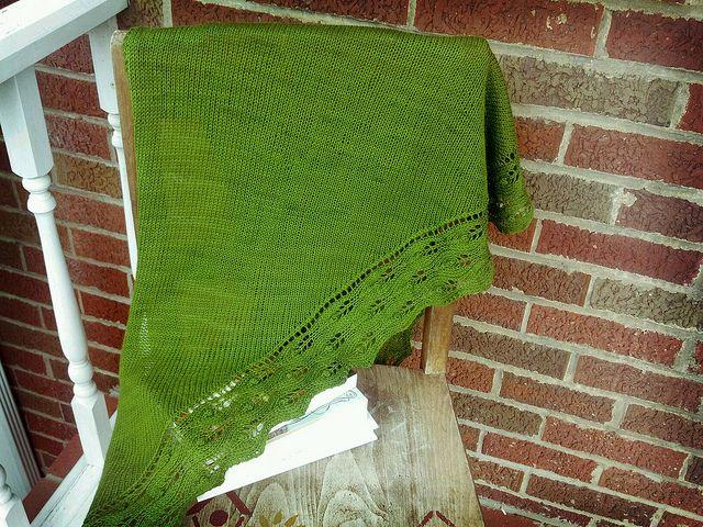 Lady Edith shawl