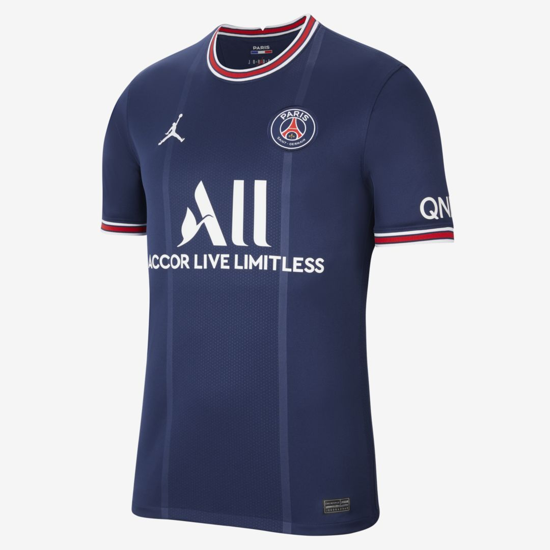 Paris Saint-Germain 2021/22 Stadium Home Men's Soccer Jersey. Nike ...