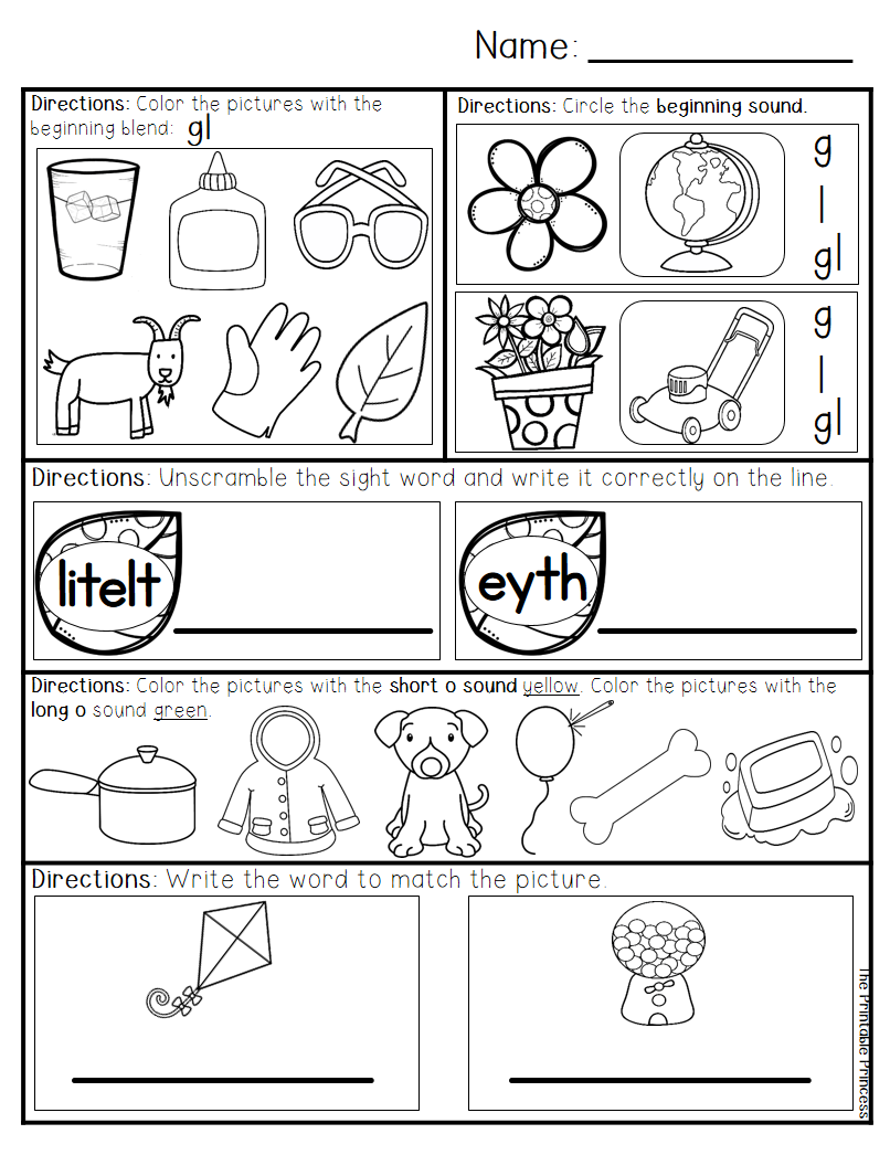 March Morning Work for Kindergarten | Morning work, Math ...