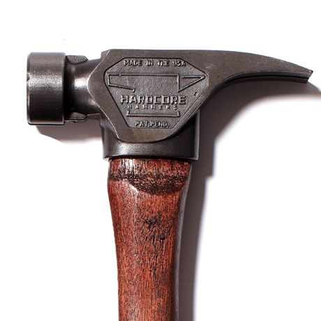 Check out this Gunstock Hammer made in Shawnee, KS by Hardcore Hammers. Purchase to support 5 American workers. Gets you 1,106 Boom™ Points. #MadeInUSA
