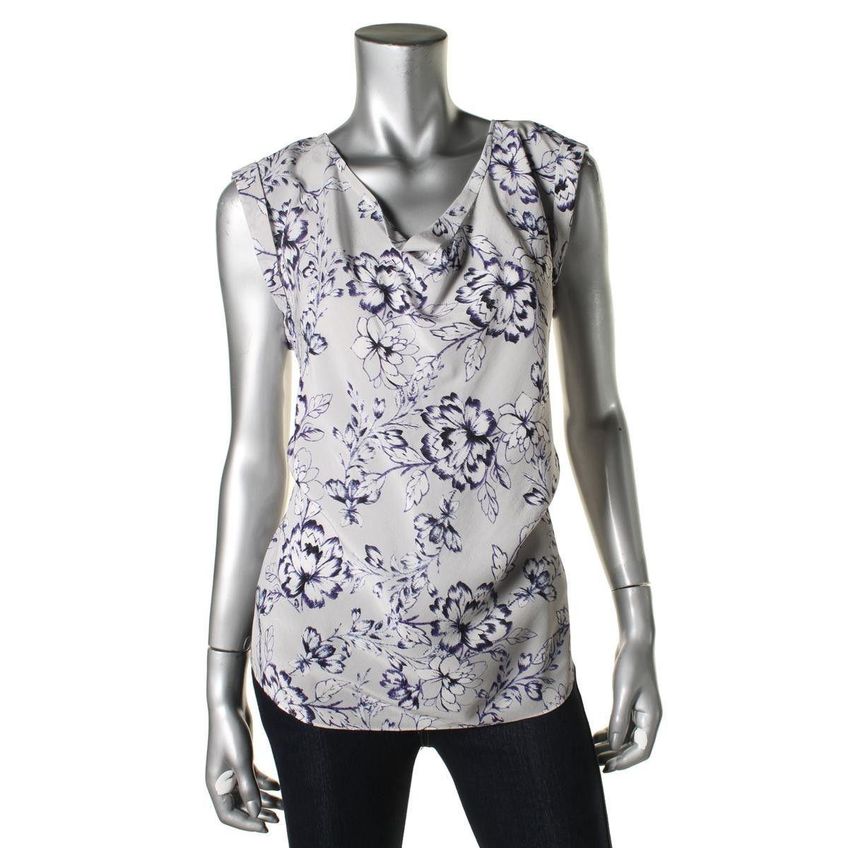 Rebecca Taylor Womens Silk Printed Blouse