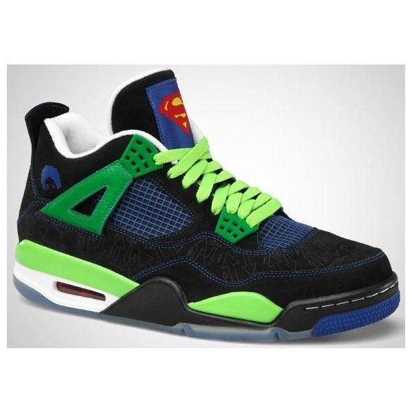 nike air jordan 4 jordan basketball shoes sneaker superman edition
