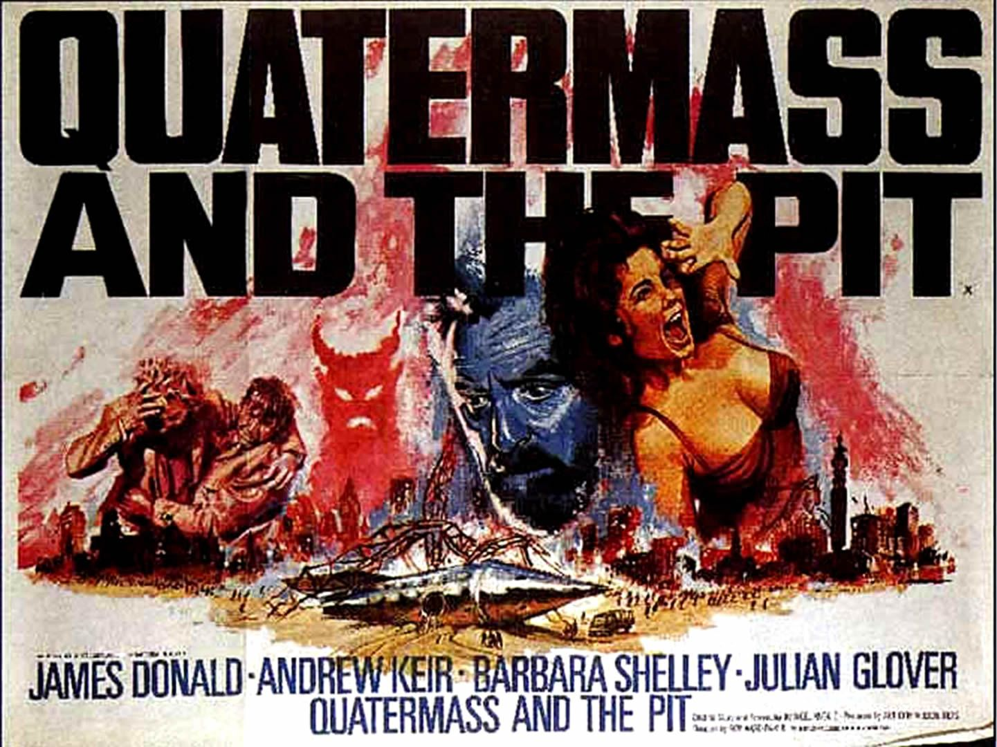 Quartermass and the Pit, or 5 million years to earth. | Quatermass ...