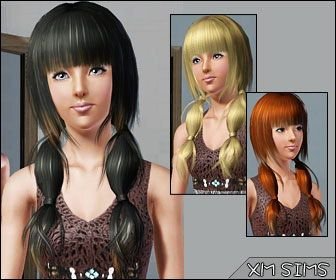 Xm Sims 3 The Sims 3 Free Downloads Hair Download Hair