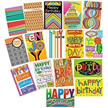 Prime Greetings 33 Bulk Birthday Cards With Envelopes