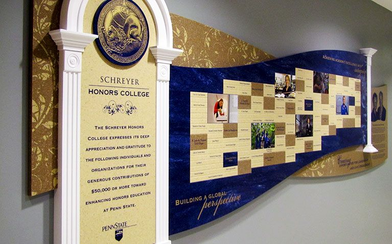 Stewardship and Donor Recognition | Schreyer Honors College (SHC ...