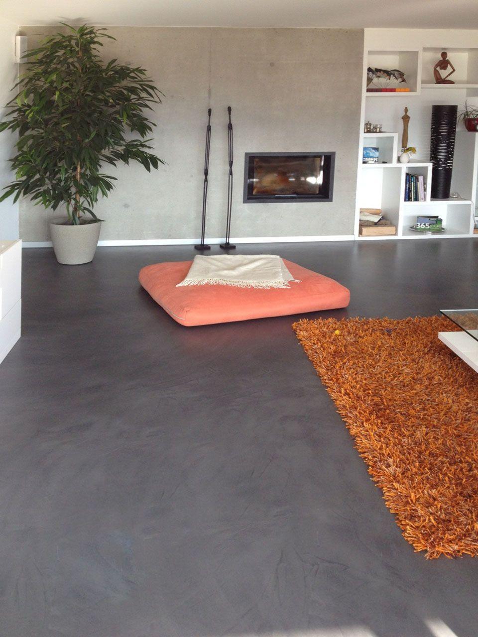 sol et murs beton cir yellostone vloeren pinterest. Black Bedroom Furniture Sets. Home Design Ideas