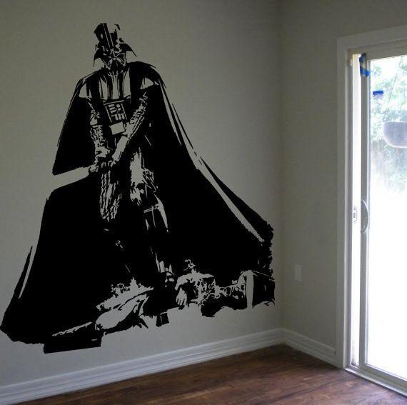 Darth Vader Star Wars Epic Fan Art Vinyl Wall Decal Wall Decor Sticker Home Decor Wall