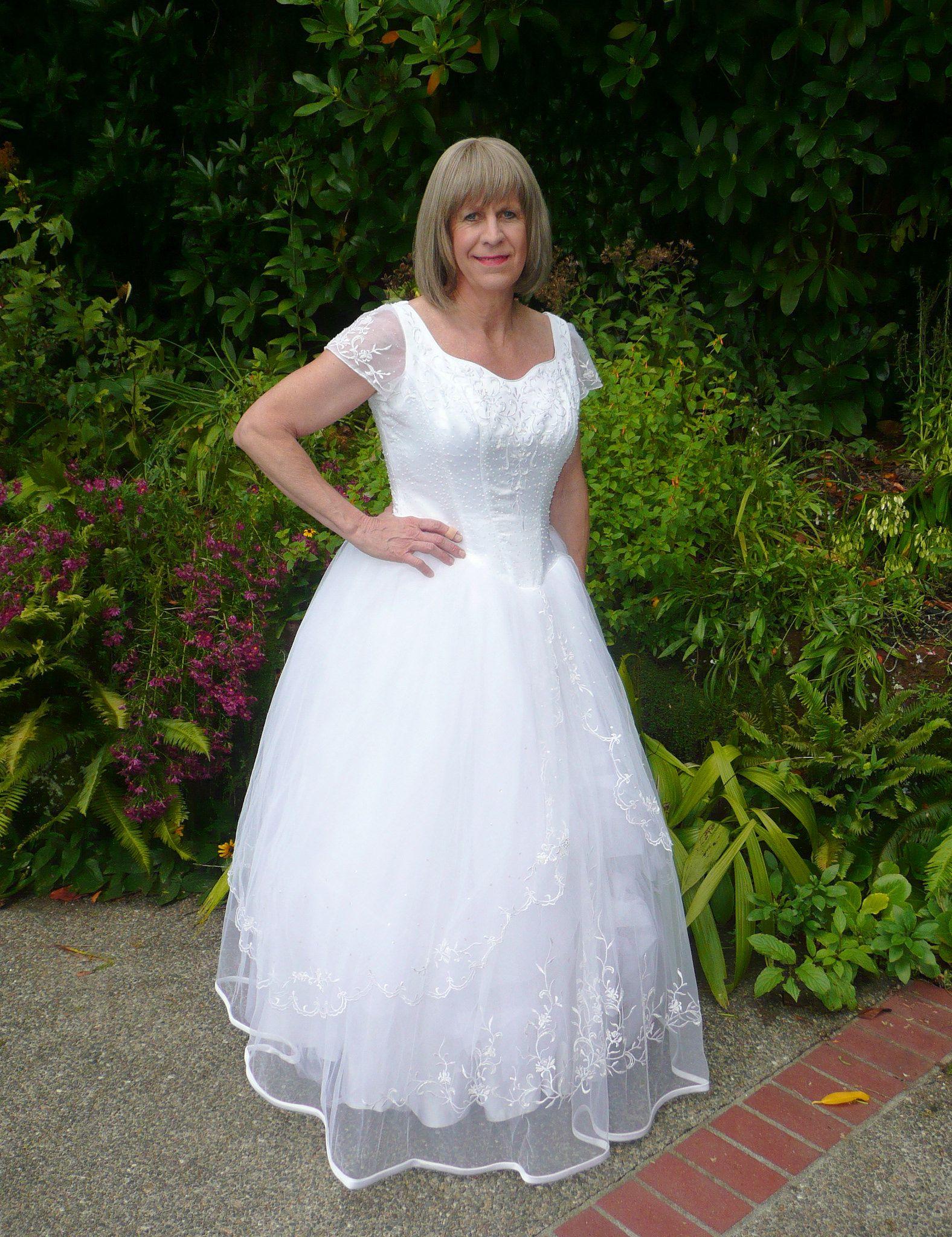 Flickr Bride Crossdressing Wedding Dress