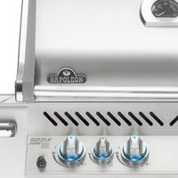 How do I replace the igniter electrodes on my Napoleon grill?