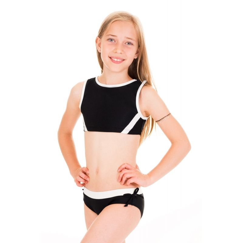01f9cb0995 Limeapple girls swimwear cropped tankini | Preteen Girls Swimsuits fun and  colorful with UPF 50 sun protection