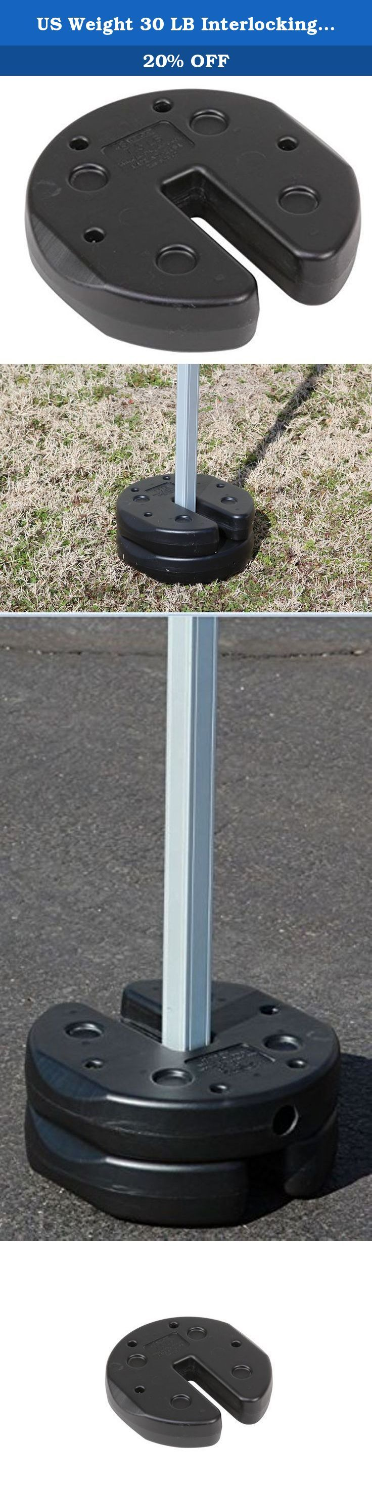 Us Weight 30 Lb Interlocking Canopy Weights Set Of 4 7 5 Lb