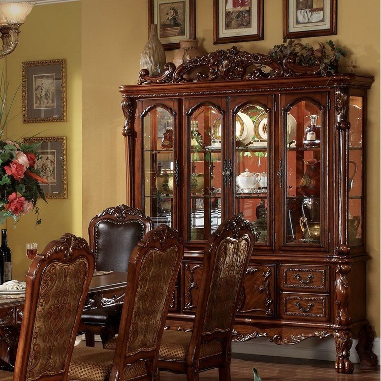 Astoria Grand Welliver Lighted China Cabinet In 2019