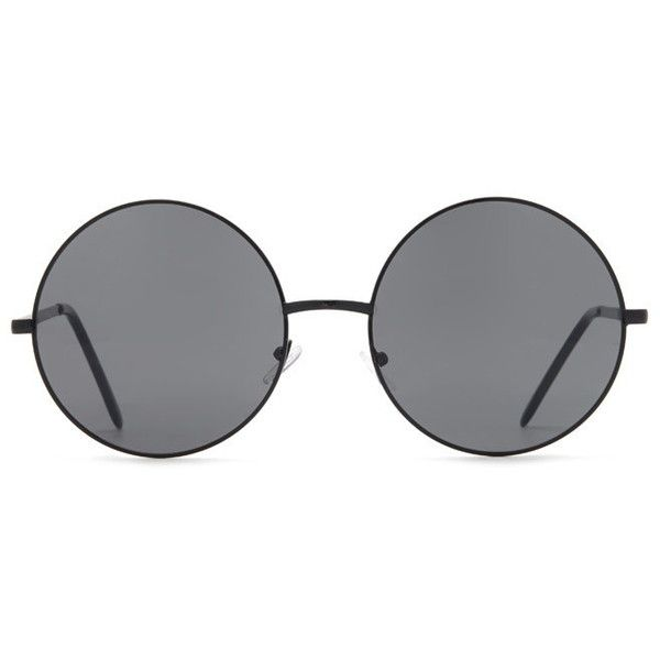 3bdbf7ea1b Forever21 Round Sunglasses ($3.99) ❤ liked on Polyvore featuring  accessories, eyewear, sunglasses, glasses, accessories - glasses, fillers, forever  21, ...