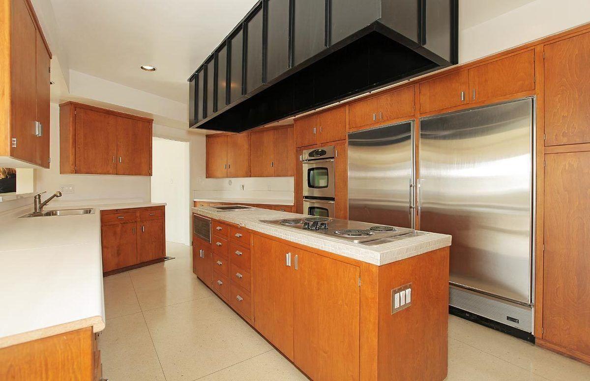 trousdale kitchen. I would get the bleach light oak wood