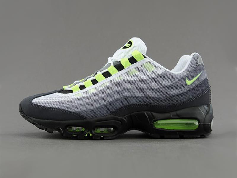 "low priced a46df 3c278 Nike Air Max 95 Premium Tape ""Neon"""