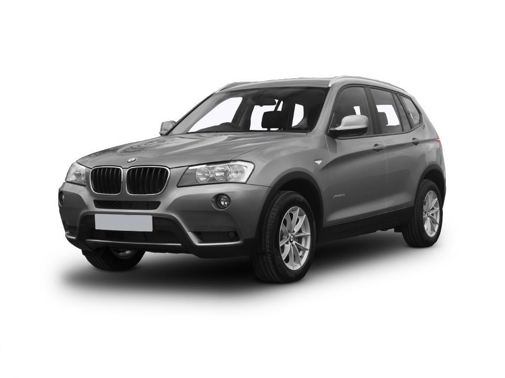 High mileage bmw x3 4x4 xdrive20d m sport 5dr step auto prof media car